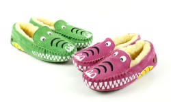 Kids Moccasin Crocodile
