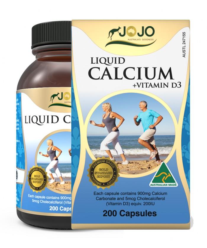 Liquid Calcium Plus Vitamin D3