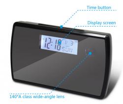 H.264 720P Alarm Clock Camera