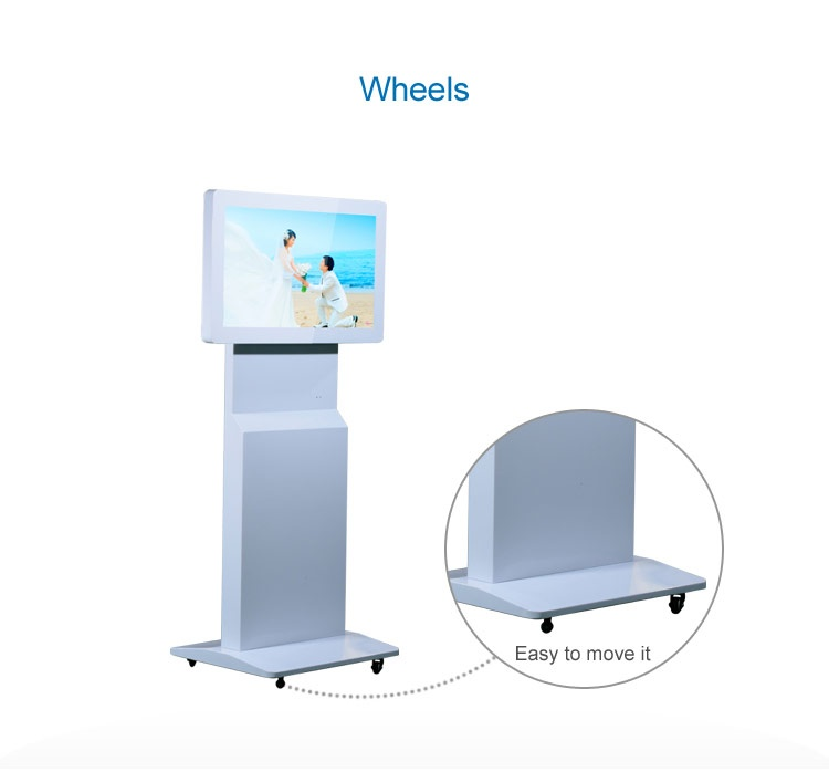 32 inch rotable digital signage with gravity sensor