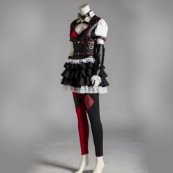 alicestyless.com Batman Arkham Harley Quinn Cosplay Costume