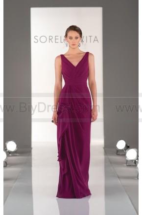 Sorella Vita Purple Bridesmaid Dress Style 8338 – Wedding Party