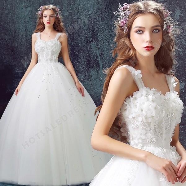 Sweet Princess Bride Diamond Flower Lace Tutu 2016 New
