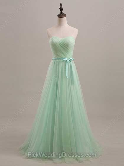 Amazing Green Bridesmaid Dresses | Dark Green, Sage Green, Apple Green Dresses, PWD