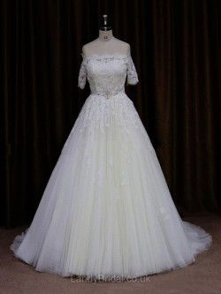 Browse the alluring collection of Wedding Dresses UK with long, cap, short sleeves.