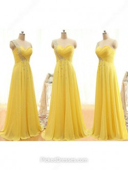 Chiffon Bridesmaid Dresses Canada Online | Pickeddresses