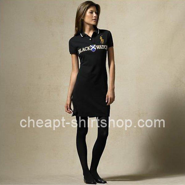 Hot Sale Ralph Lauren Womens Black Cotton Mesh Polo Dress [Ralph Lauren Polo Dresses] – $5 ...
