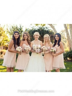Pretty Pink Bridesmaid Dresses | Fuchsia Pink, Hot Pink Dresses for Bridesmaids, PWD