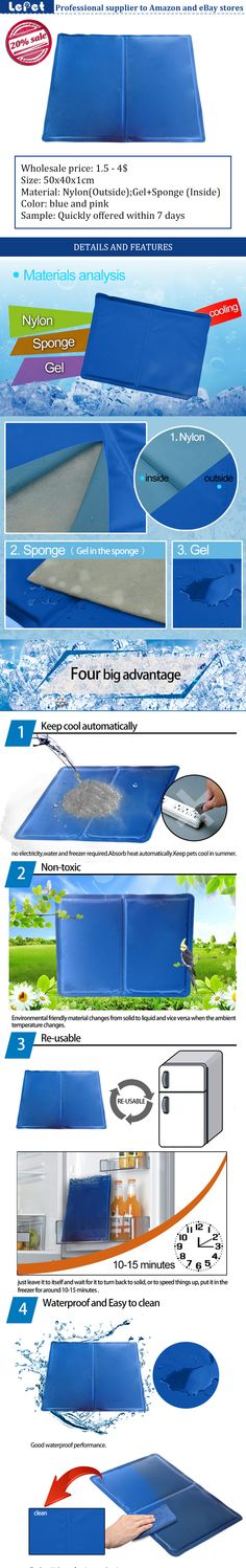 Cooling gel mat/dog&pet cooling mat pad manufacturer(factory)wholesale supplier china