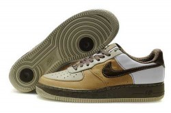 Men's Nike Air Force 1 Low Shoes Wheat/Brown/Dark Brown M27I77,Air Force 1,Jordans For Sal ...