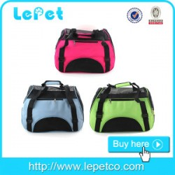 Portable Dog Carrier Pet Travel Bag/dog carrier airline approved/soft pet carrier