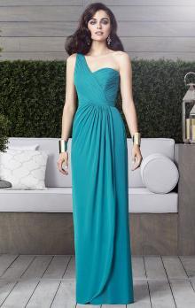 One Shoulder Green Formal Dresses in Sydney