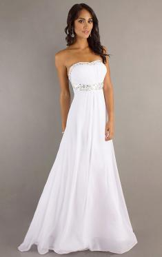 Sexy Abendkleider, Weiß Abendkleider Online für Frauen 2016