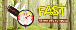 KANPAS all new elite competiton thumb compass/MA-45-FS fast