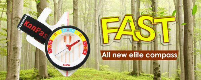 KANPAS all new elite competiton thumb compass/MA-45-FS fast