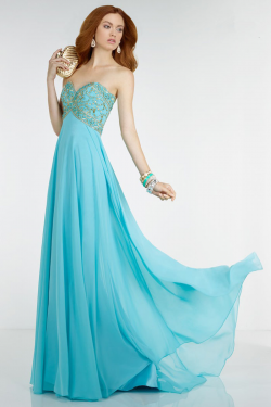 US$167.99 2016 Sweetheart Beading Ruched Chiffon Zipper Blue Floor Length Sleeveless