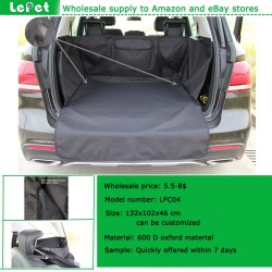 wholesale deluxe waterproof quilted dog travel cargo liner
