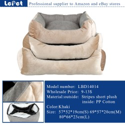 Soft warm luxury orthopedic dog bed wholesale factory