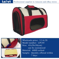 Pet supplies soft dog travel crate/soft sided pet carrier/pet carrier bag wholesale pet carrier