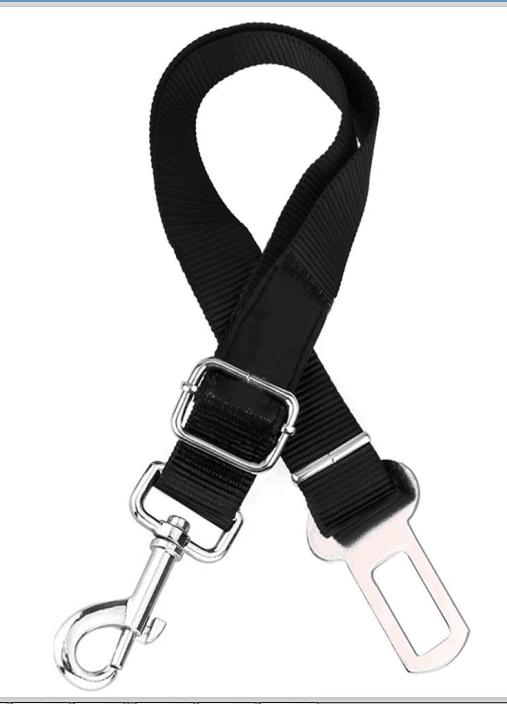 Adjustable Pet Dog Car Auto Safety Seat Belt   Lepetco.com
