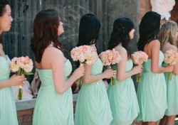 Green| Mint Green Bridesmaid dresses UK at Dressfashion.co.uk