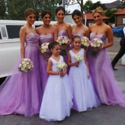 Lilac, Lavender and Mauve Bridesmaid Dresses UK at Dressfashion.co.uk