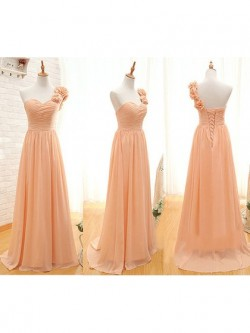Orange | Burnt Orange Bridesmaid Dresses UK by Dressfashion.co.uk