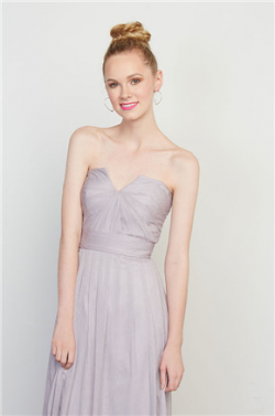 US$140.99 2016 Sweetheart Floor Length Zipper Lilac Chiffon A-line Ruched Sleeveless