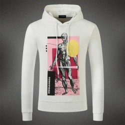 Dsquared2 Men DS09 Giant Print Sweatshirt White