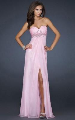 Online Long Pink Tailor Made Evening Prom Dress (LFNAF0009) cheap online-MarieProm UK
