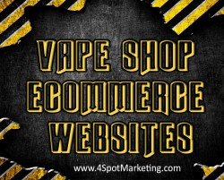 Ecommerce Websites For Vape Shops