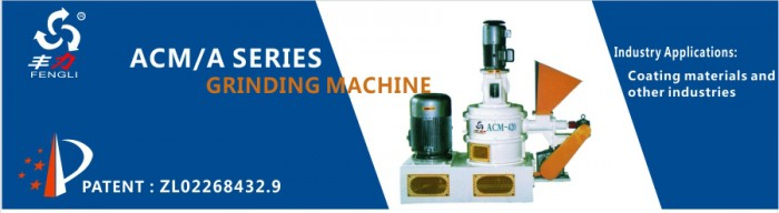 ACM Series Grinding Miller Manufaturer for Calcium Carbonate