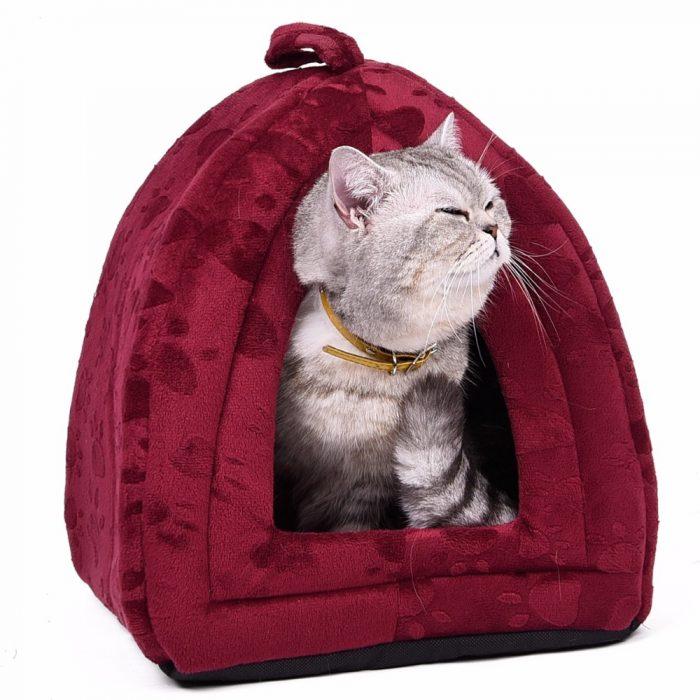 Warm Cotton Cat Cave