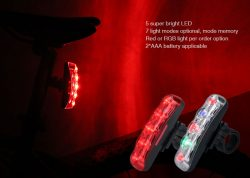 Bicycle Taillight with LED Warning Reflector – Bike Products