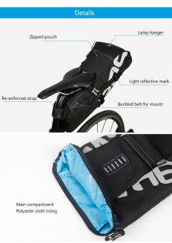 ROSWHEEL Bicycle Seatpost Bag – Bike Products