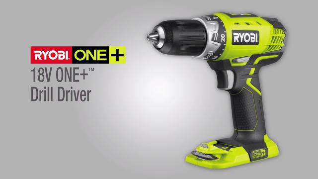 Ryobi One+ 18V Cordless Compact Drill Driver – Skin Only | Bunnings Warehouse