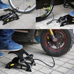 SAHOO Bicycle Aluminum Foot Air Pump – Bike Products