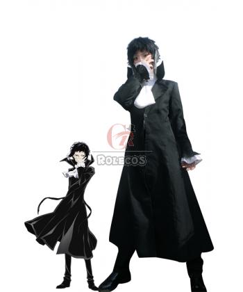 Buy Bungou Stray Dogs Ryūnosuke Akutagawa Mafia Black Cosplay Costumes – RoleCosplay.com