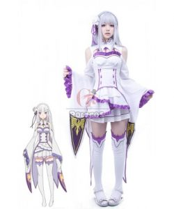 Buy Re: Life in a Different World from Zero Emilia Dresses for Sale – RoleCosplay.com