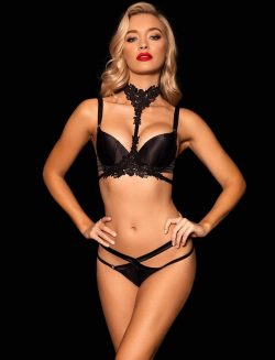 Eve Bra & Thong Set – Shop Lingerie | Honey Birdette