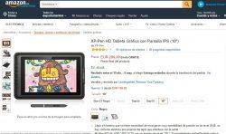 XP-Pen Artist 10S HD Tableta Gráfica con Pantalla IPS