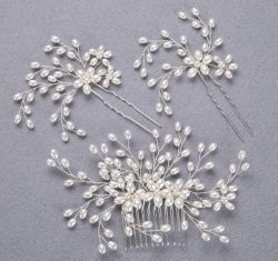 Top sale hair accessories bridal wedding headwear party tiara for ladies