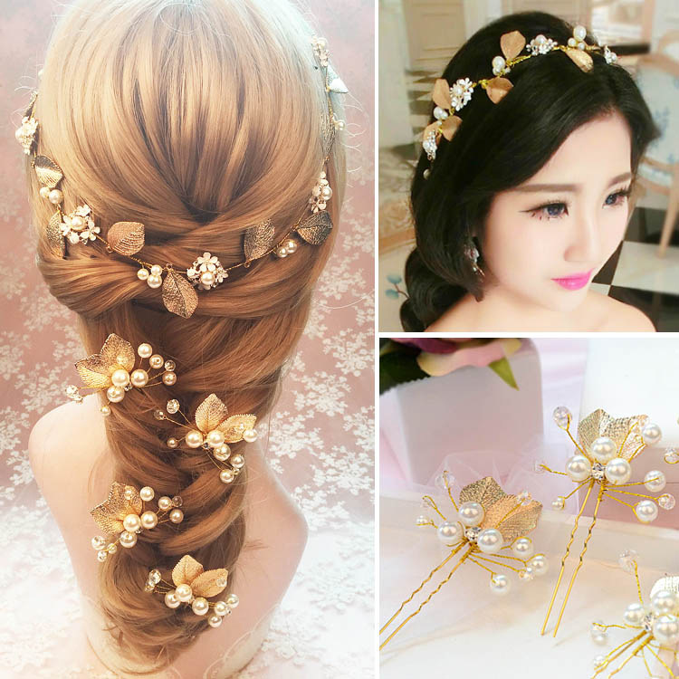 Wedding hair accessories handmade bridal hairpins