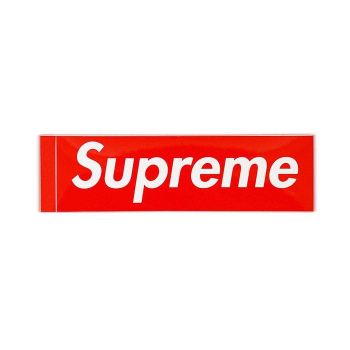 Supreme Box Logo Sticker – Streetwear Official