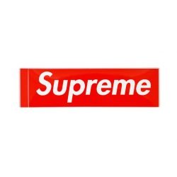 Supreme Box Logo Sticker – Streetwear Official
