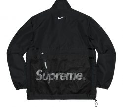 Supreme Nike Trail Running Jacket- Black – Streetwear Official