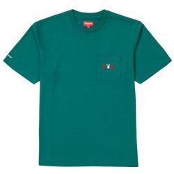 Supreme Playboy Pocket Tee- Dark Green – Streetwear Official