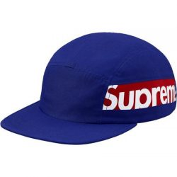 Supreme Side Panel Camp Cap- Royal – Streetwear Official