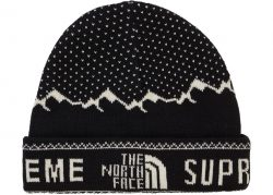 Supreme The North Face Fold Beanie- Black – Streetwear Official