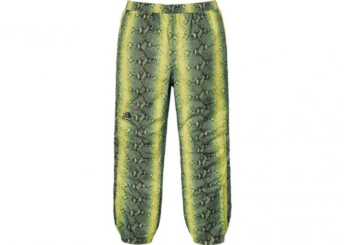 Supreme The North Face Snakeskin Taped Seam Pant- Green – Streetwear Official